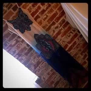 SUMMER MAXI DRESS | OMBRE CROCHET